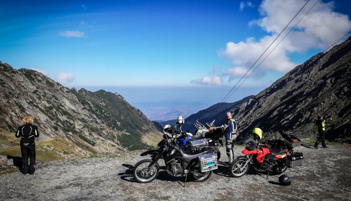 Ride Adventure Motorcycle Tour in Romania