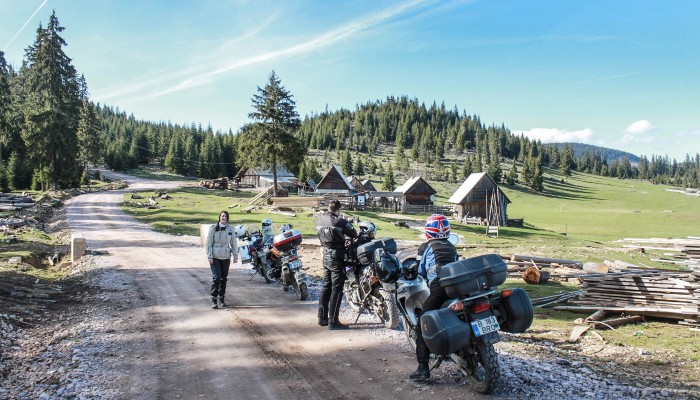 Kulturide Motorcycle Tour in Romania